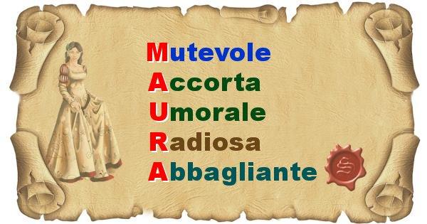 Maura - Significato letterale del nome Maura