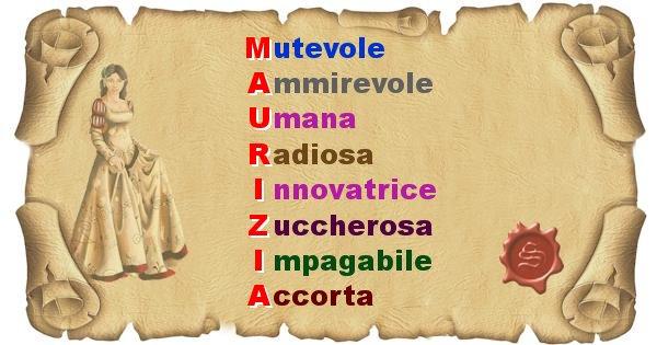 Maurizia - Significato letterale del nome Maurizia