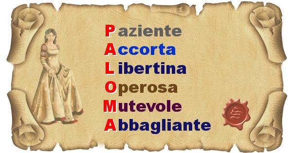 Paloma - Significato letterale del nome Paloma