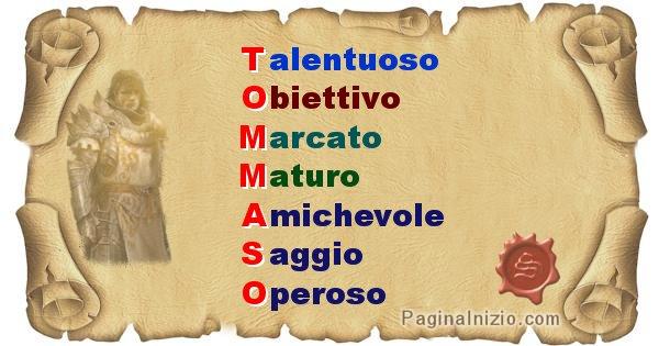 Tommaso - Significato letterale del nome Tommaso