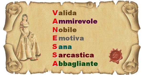 Vanessa - Significato letterale del nome Vanessa