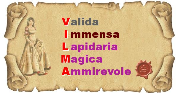 Vilma - Significato letterale del nome Vilma