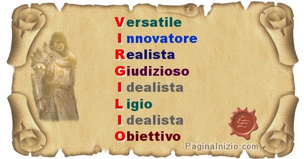 Virgilio - Significato letterale del nome Virgilio