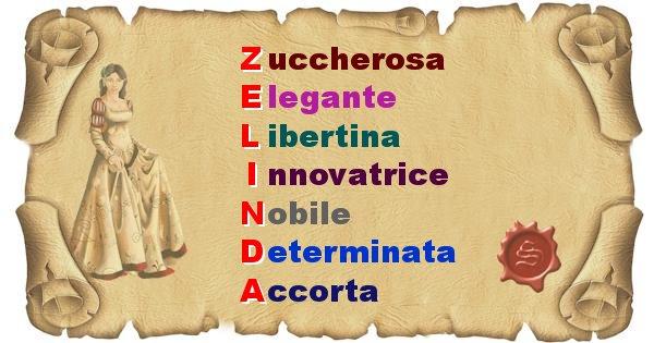 Zelinda - Significato letterale del nome Zelinda