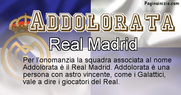 Addolorata - Squadra associata al nome Addolorata