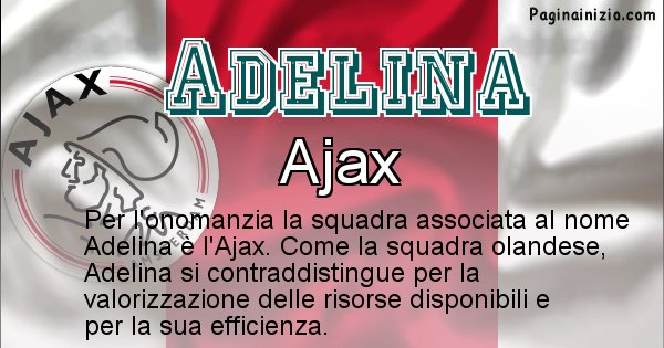 Adelina - Squadra associata al nome Adelina