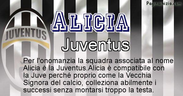 Alicia - Squadra associata al nome Alicia