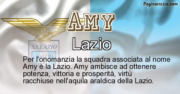 Amy - Squadra associata al nome Amy