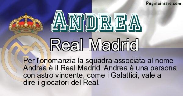 Andrea - Squadra associata al nome Andrea