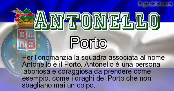 Antonello - Squadra associata al nome Antonello