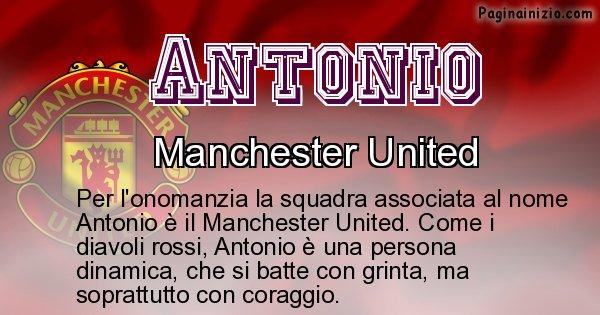 Antonio - Squadra associata al nome Antonio
