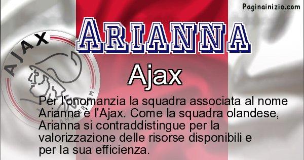 Arianna - Squadra associata al nome Arianna