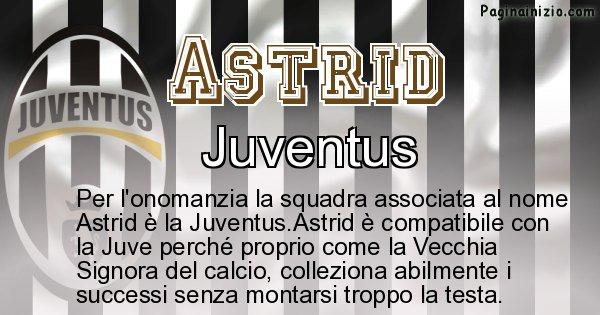 Astrid - Squadra associata al nome Astrid