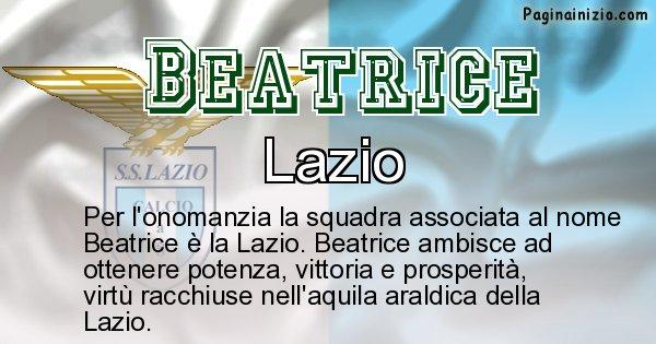Beatrice - Squadra associata al nome Beatrice