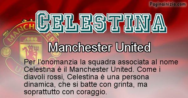 Celestina - Squadra associata al nome Celestina