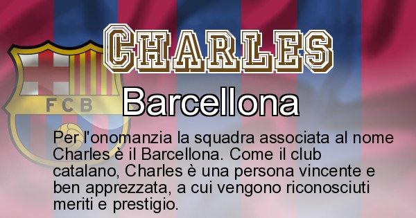 Charles - Squadra associata al nome Charles