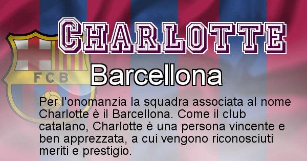 Charlotte - Squadra associata al nome Charlotte
