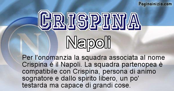 Crispina - Squadra associata al nome Crispina