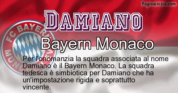 Damiano - Squadra associata al nome Damiano
