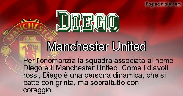 Diego - Squadra associata al nome Diego