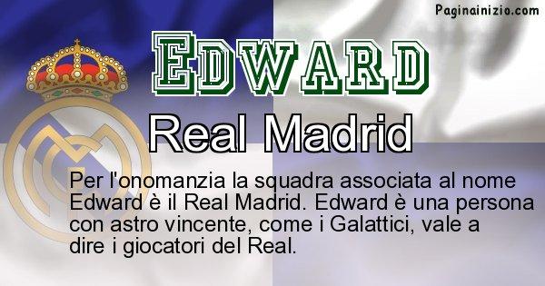 Edward - Squadra associata al nome Edward