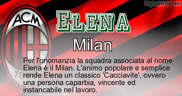 Elena - Squadra associata al nome Elena
