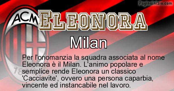 Eleonora - Squadra associata al nome Eleonora