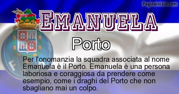 Emanuela - Squadra associata al nome Emanuela