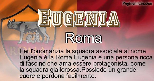 Eugenia - Squadra associata al nome Eugenia