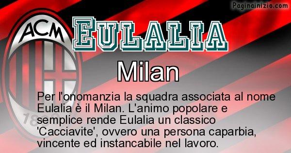 Eulalia - Squadra associata al nome Eulalia