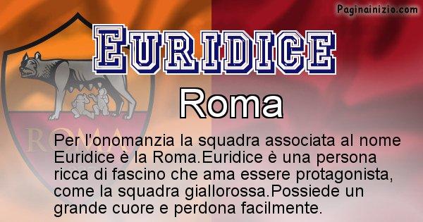 Euridice - Squadra associata al nome Euridice