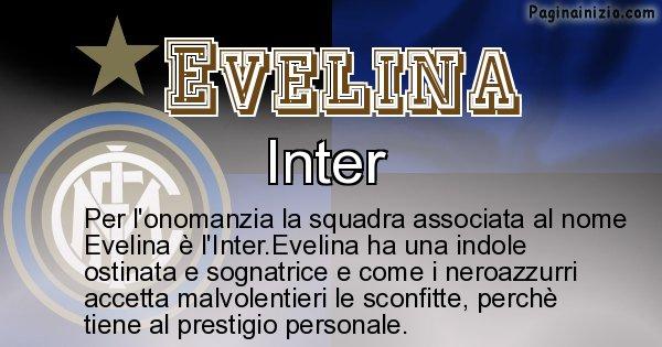 Evelina - Squadra associata al nome Evelina
