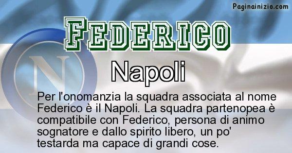 Federico - Squadra associata al nome Federico