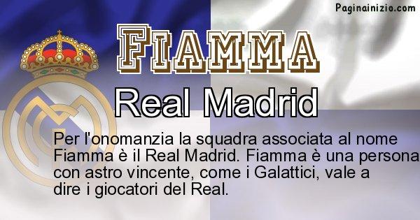 Fiamma - Squadra associata al nome Fiamma
