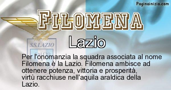 Filomena - Squadra associata al nome Filomena