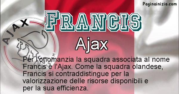 Francis - Squadra associata al nome Francis