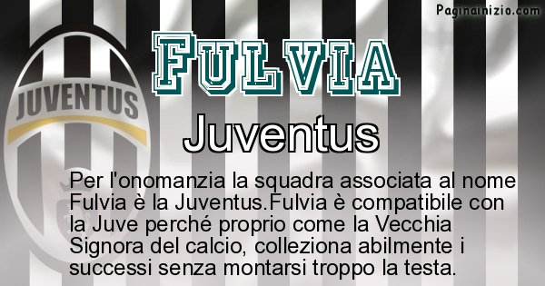 Fulvia - Squadra associata al nome Fulvia