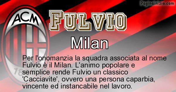 Fulvio - Squadra associata al nome Fulvio