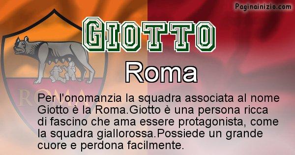 Giotto - Squadra associata al nome Giotto