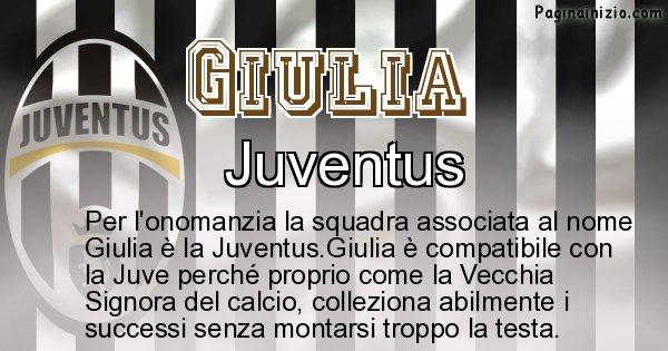 Giulia - Squadra associata al nome Giulia
