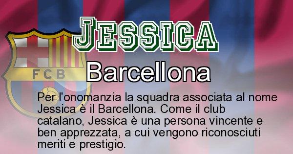 Jessica - Squadra associata al nome Jessica