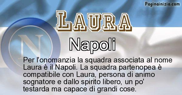 Laura - Squadra associata al nome Laura