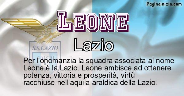 Leone - Squadra associata al nome Leone