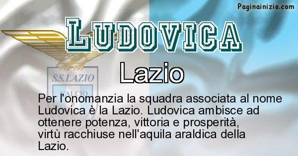Ludovica - Squadra associata al nome Ludovica