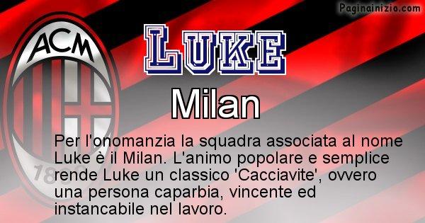 Luke - Squadra associata al nome Luke