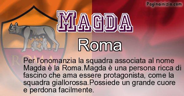 Magda - Squadra associata al nome Magda