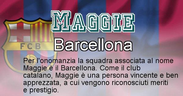 Maggie - Squadra associata al nome Maggie
