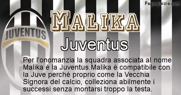 Malika - Squadra associata al nome Malika
