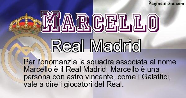 Marcello - Squadra associata al nome Marcello