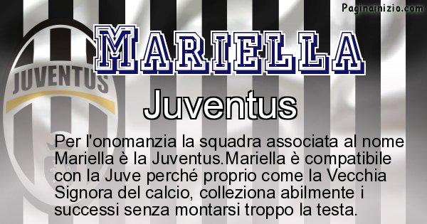 Mariella - Squadra associata al nome Mariella